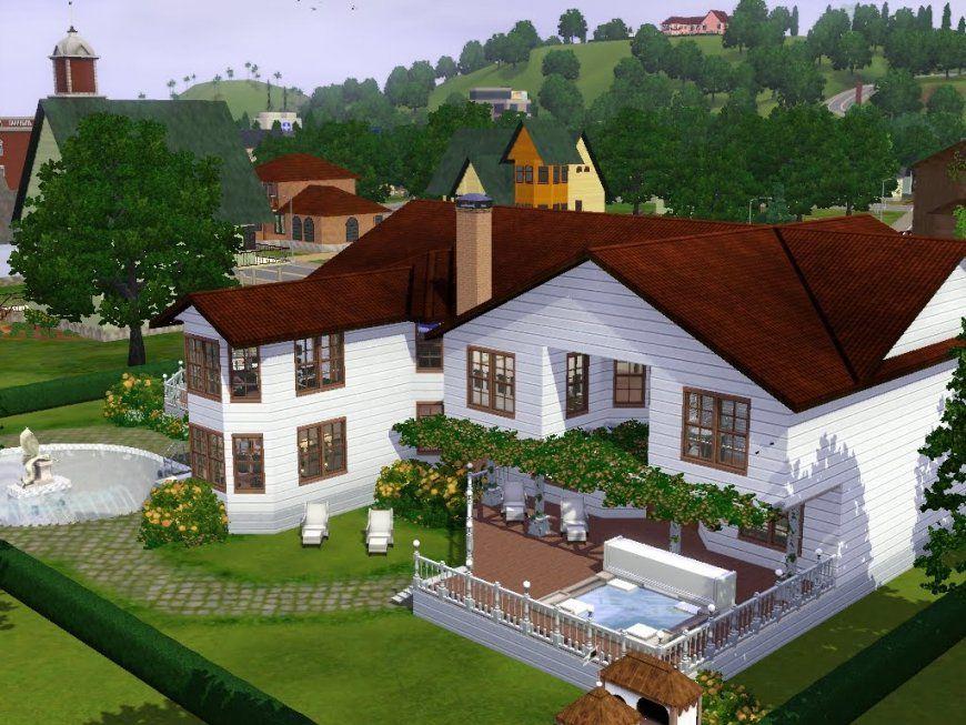 Sims 3  Haus Bauen  Let's Build  Haus Im Landhausstil  Youtube von Sims Häuser Zum Nachbauen Bild