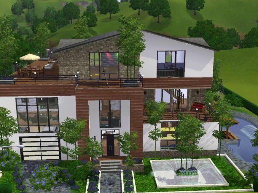 Sims 3  Haus Bauen  Let's Build  Viel Platz Für Familie Heineken von Sims 3 Haus Bauen Schritt Für Schritt Bild