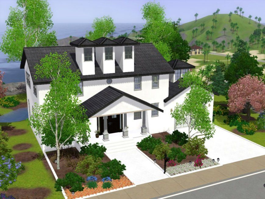 Sims 3 Haus Bauen von Sims Häuser Zum Nachbauen Bild