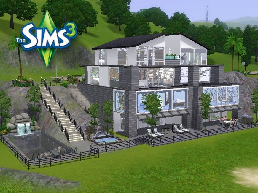 Sims 3 Häuser Zum Nachbauen Luxus  Loopele von Sims Häuser Zum Nachbauen Bild