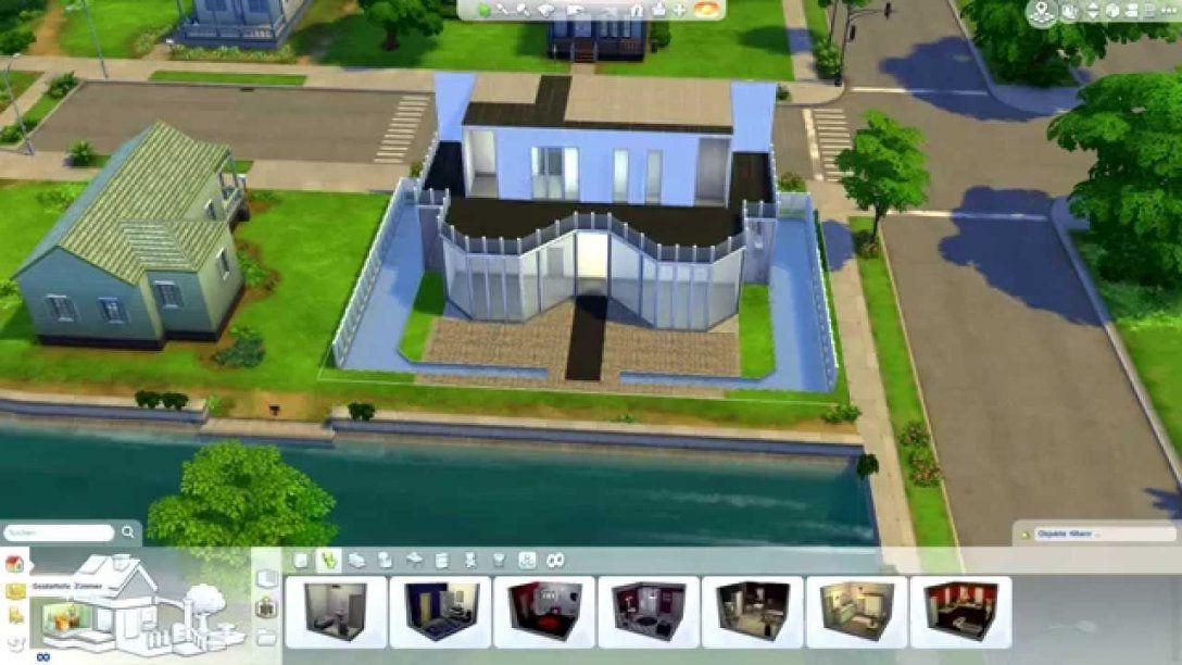 Sims 4 Haus Bauen 2  Modern Luxury Home + Download  Youtube von Sims 4 Häuser Bauen Ideen Bild
