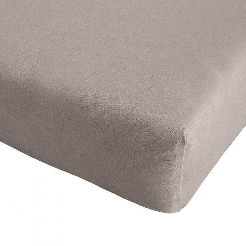 Singlejerseyspannbetttuch Quality (120X200 Grau)  Dänisches von Jersey Bettwäsche Dänisches Bettenlager Bild