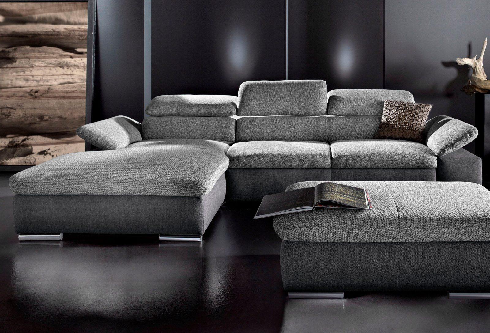 Sit&more Polsterecke Wahlweise Mit Bettfunktion Kaufen  Baur von Sit & More Polsterecke Bild