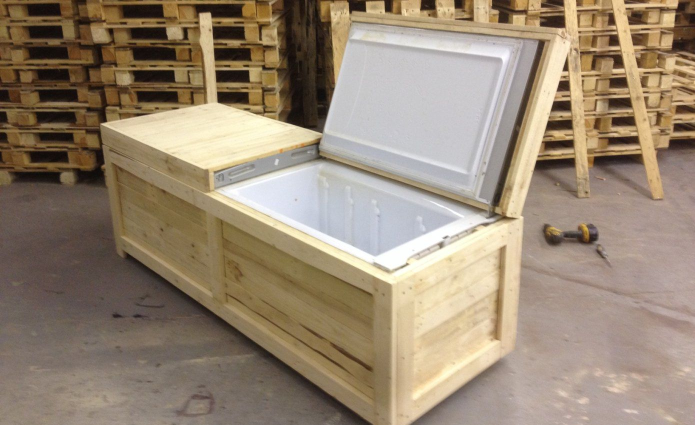 Sitzbank Aus Holz Selber Bauen von Sitzbank Mit Stauraum Selber Bauen Bild