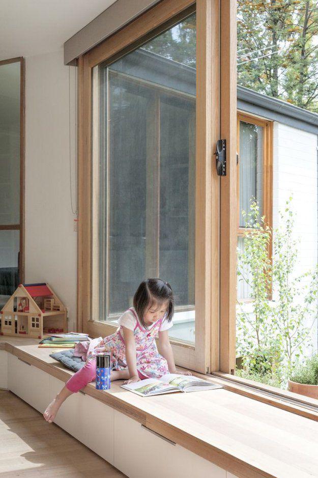 Erstaunlich Fenster Sitzbank Selber Bauen Fensterbank Zum Sitzen Von