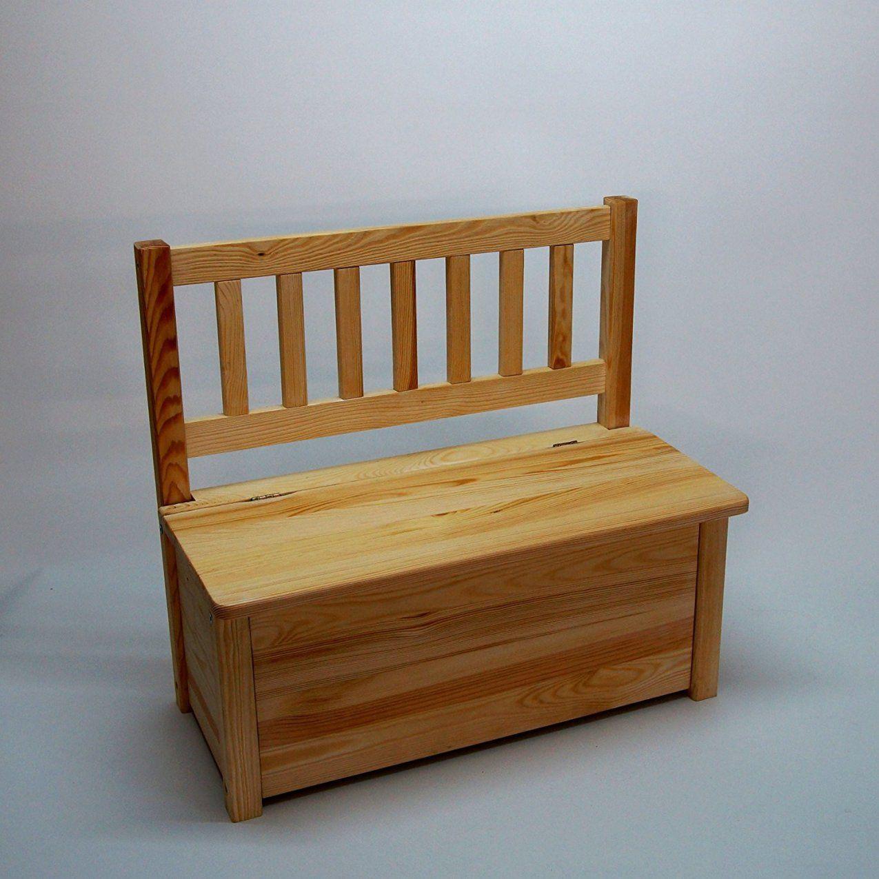 Sitzbank Mit Stauraum Balkon Holz Selber Bauen Kuche Avec Holz von Sitzbank Mit Stauraum Für Balkon Bild