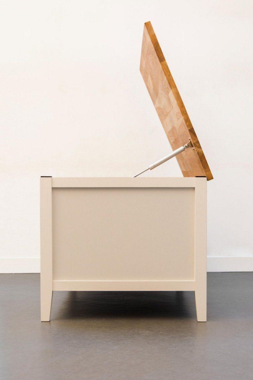 Sitzbank Mit Stauraum Fur Kuche Gepolsterte Selber Bauen Holz Flur von Sitzbank Mit Stauraum Selber Bauen Bild