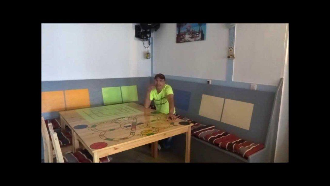Sitzecke Für Die Küche Selber Bauen  Youtube von Sitzbank Polster Selber Machen Photo