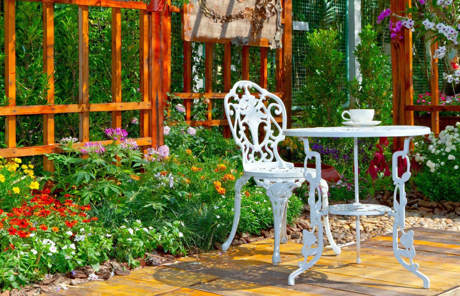 Sitzecken Im Garten  Gestaltungsideen  Blütenrausch von Sitzecken Im Garten Bilder Photo