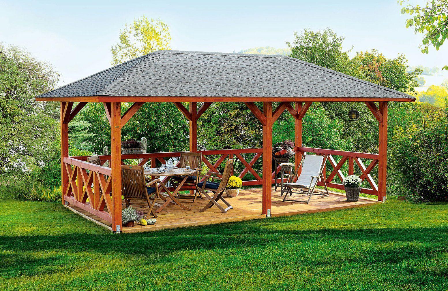 Skan Holz Pavillon Orleans von Holz Pavillon Bausatz Günstig Photo