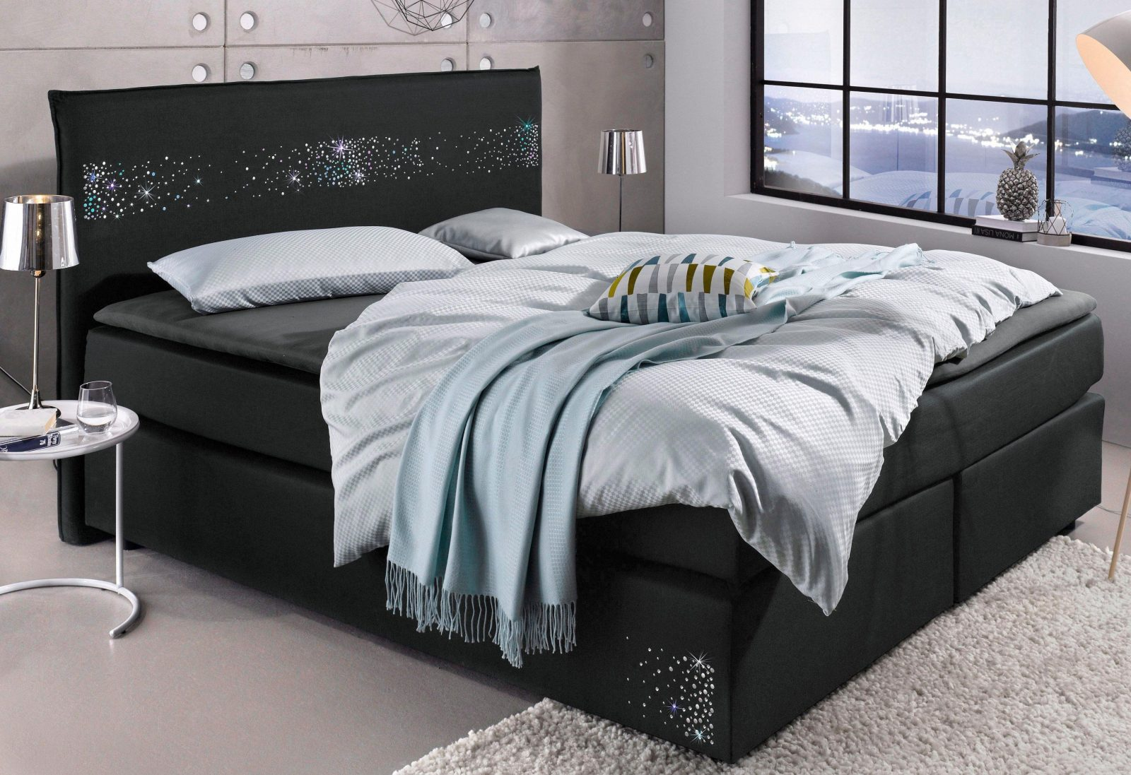 otto boxspringbett mit bettkasten haus design ideen. Black Bedroom Furniture Sets. Home Design Ideas