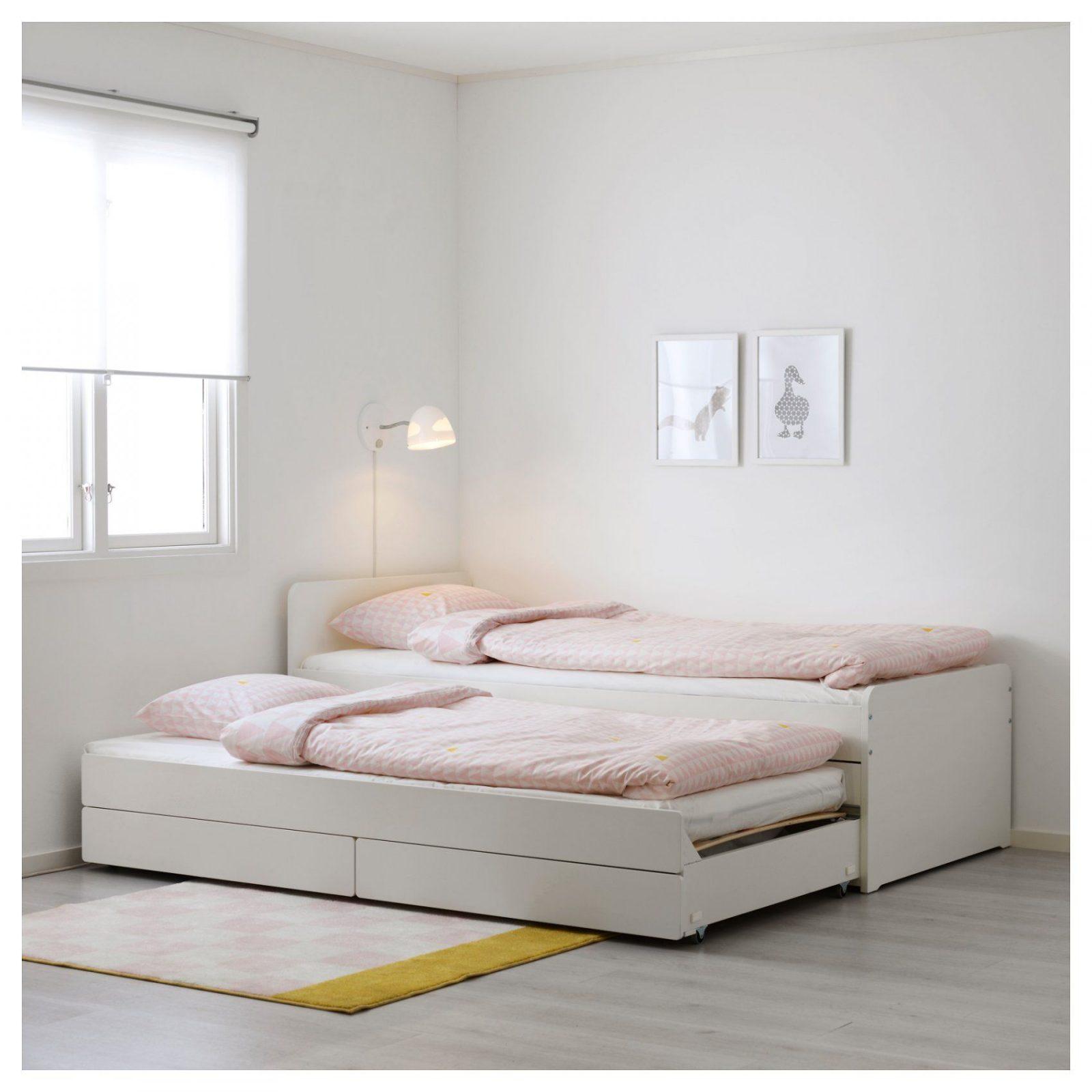 Släkt Unterbett Mit Aufbewahrung Ikea Avec Ikea Bett Släkt Et von Ikea Einzelbett Mit Unterbett Photo