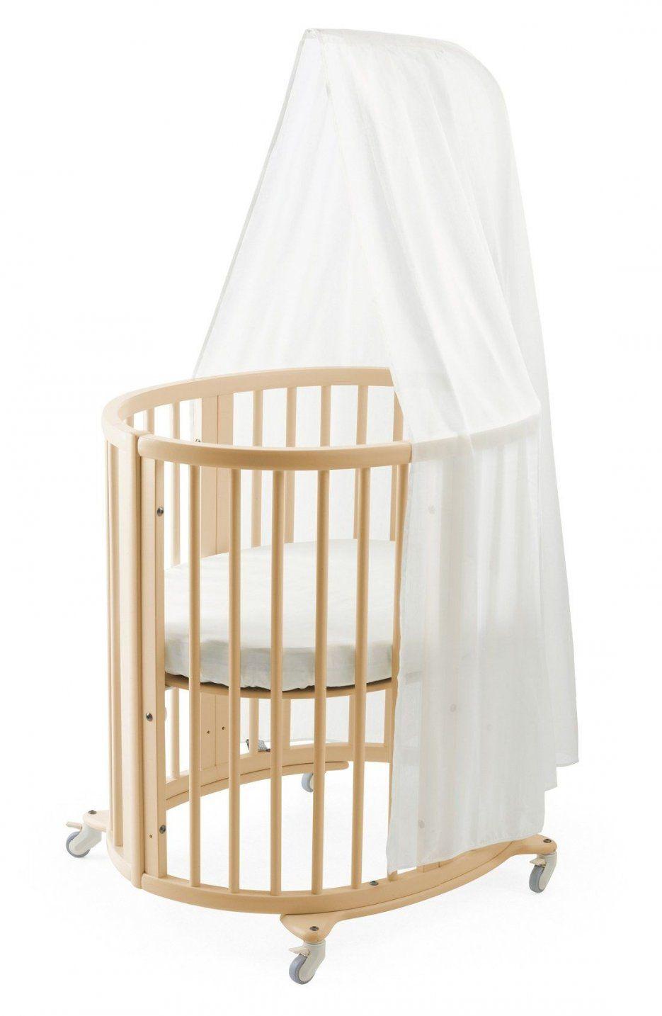 Sleepi Mini Crib Drape Rod & Mattress Bundle von Stokke Sleepi Mini Matratze Bild