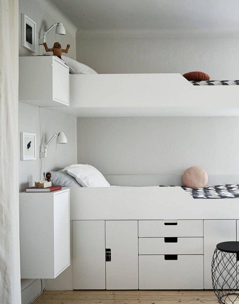 Small But Smart Family Home  Bett Kinderzimmer Und Hochbetten von Hochbett Mit Viel Stauraum Bild