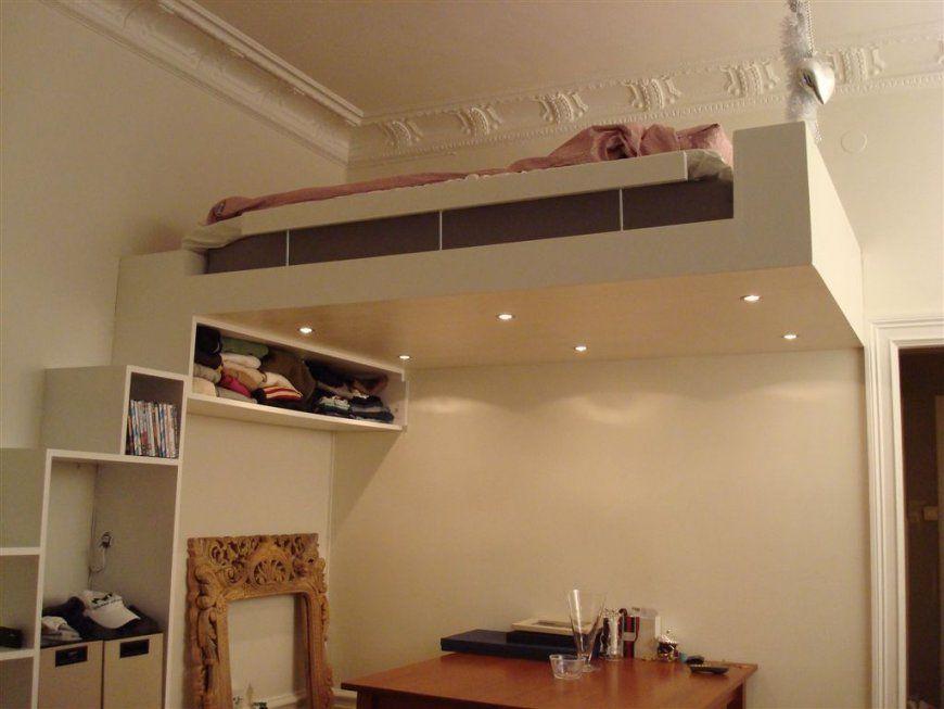 Small Space Solution – Design Loft Bed  Creatiolista von Hochbett Treppe Selber Bauen Bild