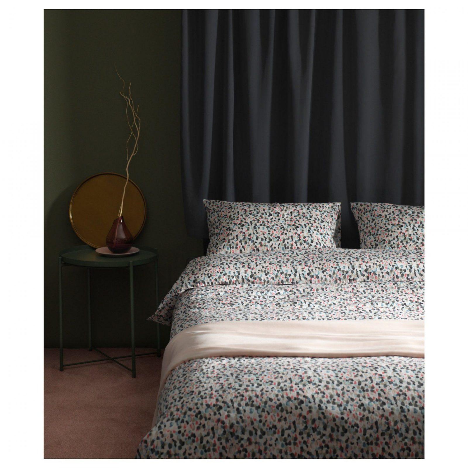 sm starr dekbedovertrek met 2 slopen gestippeldveelkleurig. Black Bedroom Furniture Sets. Home Design Ideas