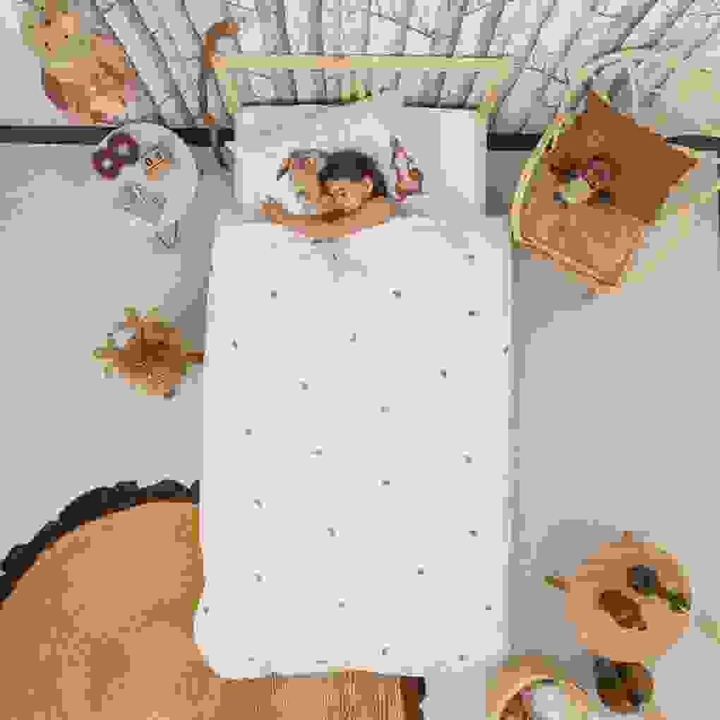 Snurk Bettwäsche Furry Friends 135 X 200 Cm 100% Baumwolle Deko von Bettwäsche Fotodruck Tiere Bild