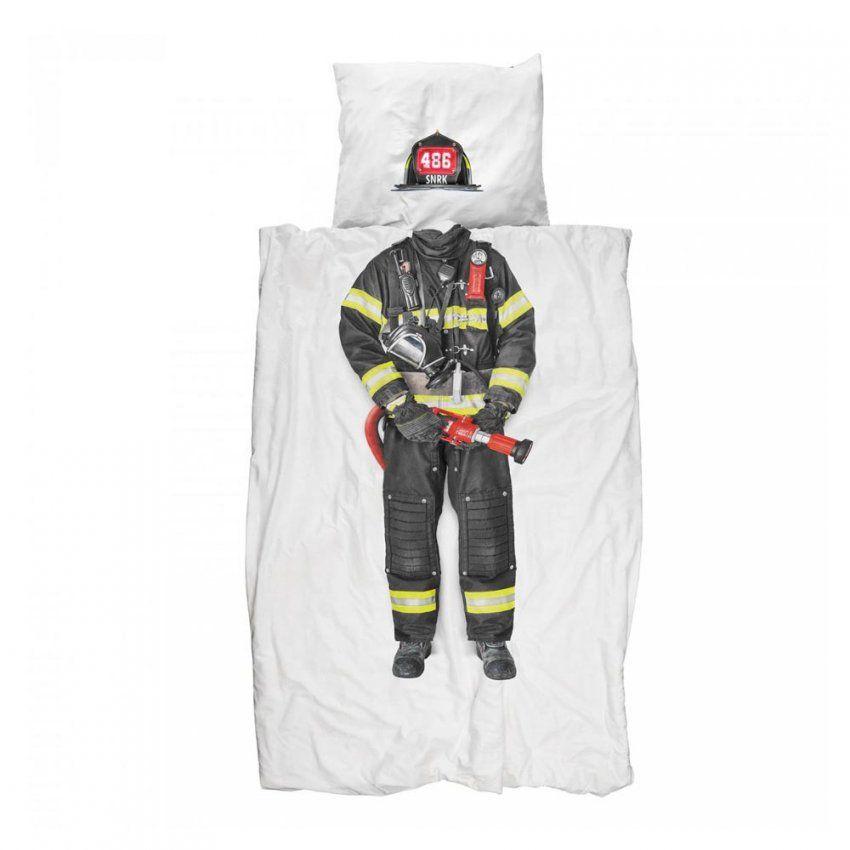 Snurk Flanellbettwäsche Feuerwehr 135 X 200 Bei Kinder Räume von Feuerwehr Bettwäsche 100X135 Photo
