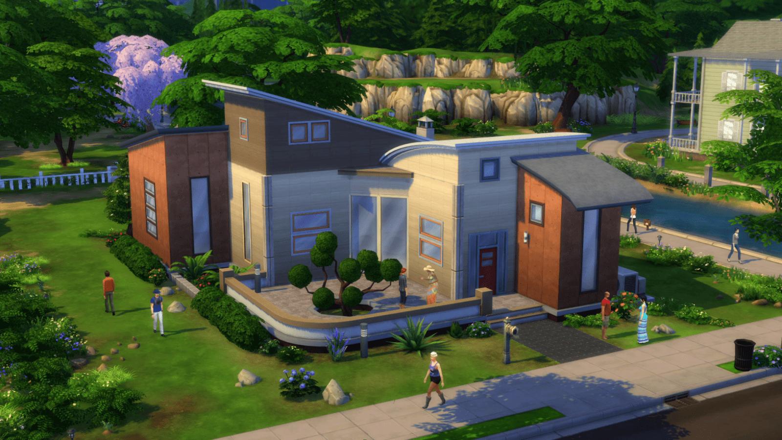 So Erstellt Ihr Einfach Traumhäuser In Sims 4  Gentv von Sims 4 Haus Bauen Bild