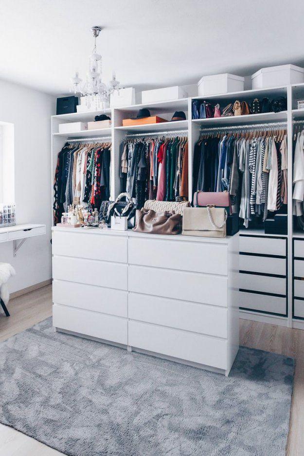 So Habe Ich Mein Ankleidezimmer Eingerichtet Und Gestaltet  Ikea von Begehbarer Kleiderschrank Ikea Pax Photo