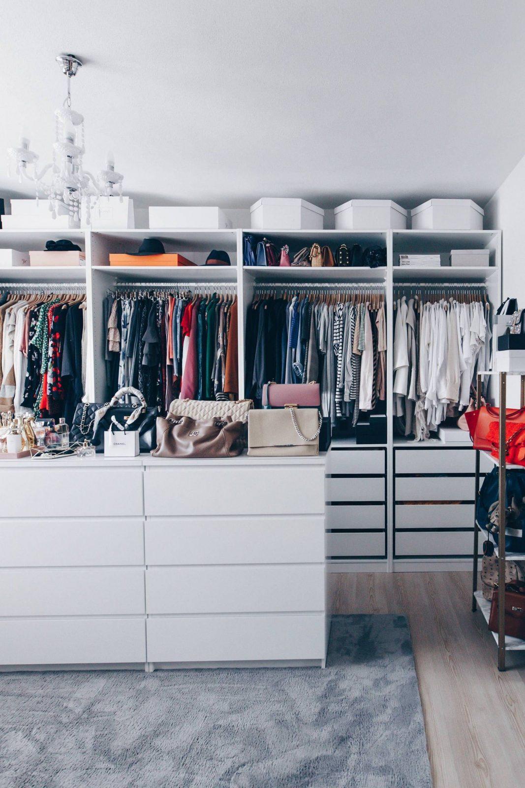 So Habe Ich Mein Ankleidezimmer Eingerichtet Und Gestaltet von Begehbarer Kleiderschrank Ikea Pax Bild