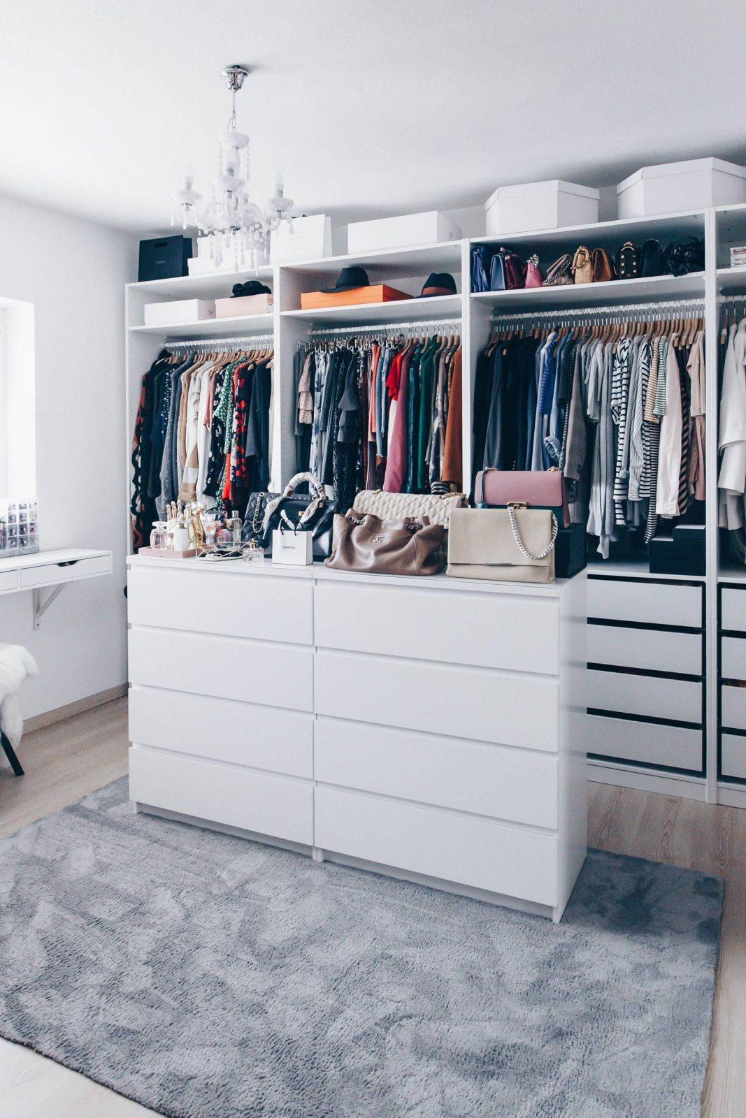 So Habe Ich Mein Ankleidezimmer Eingerichtet Und Gestaltet von Ikea Begehbarer Kleiderschrank Planen Bild