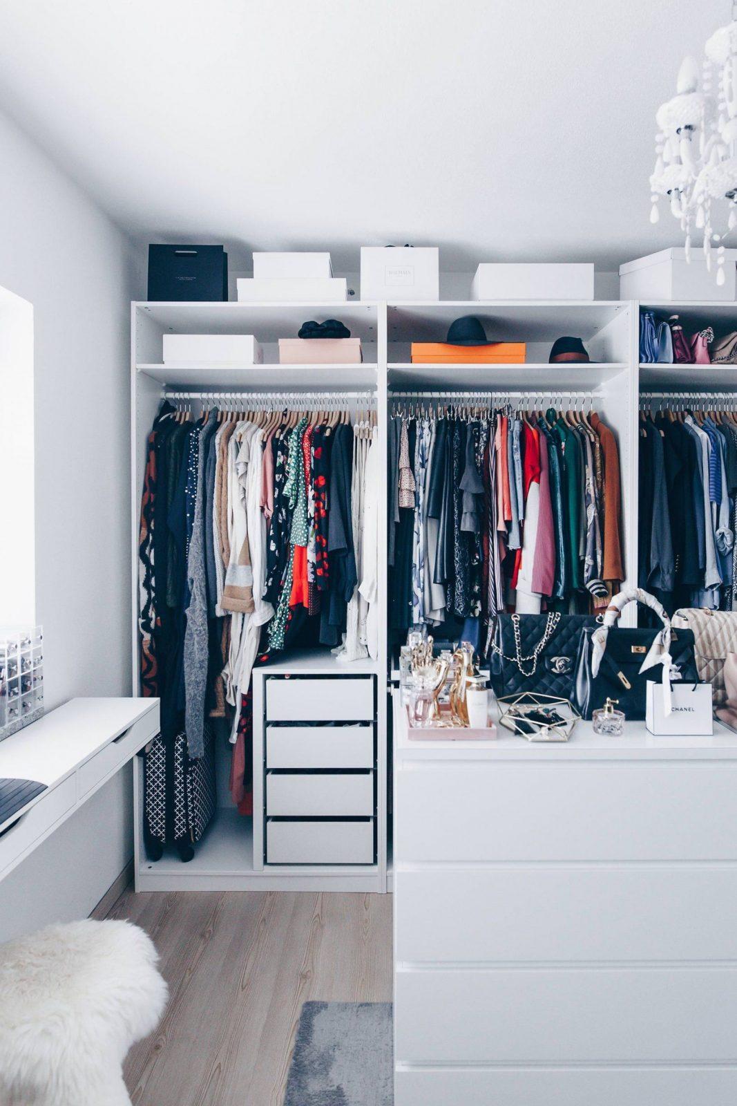 So Habe Ich Mein Ankleidezimmer Eingerichtet Und Gestaltet von Ikea Begehbarer Kleiderschrank Planen Photo