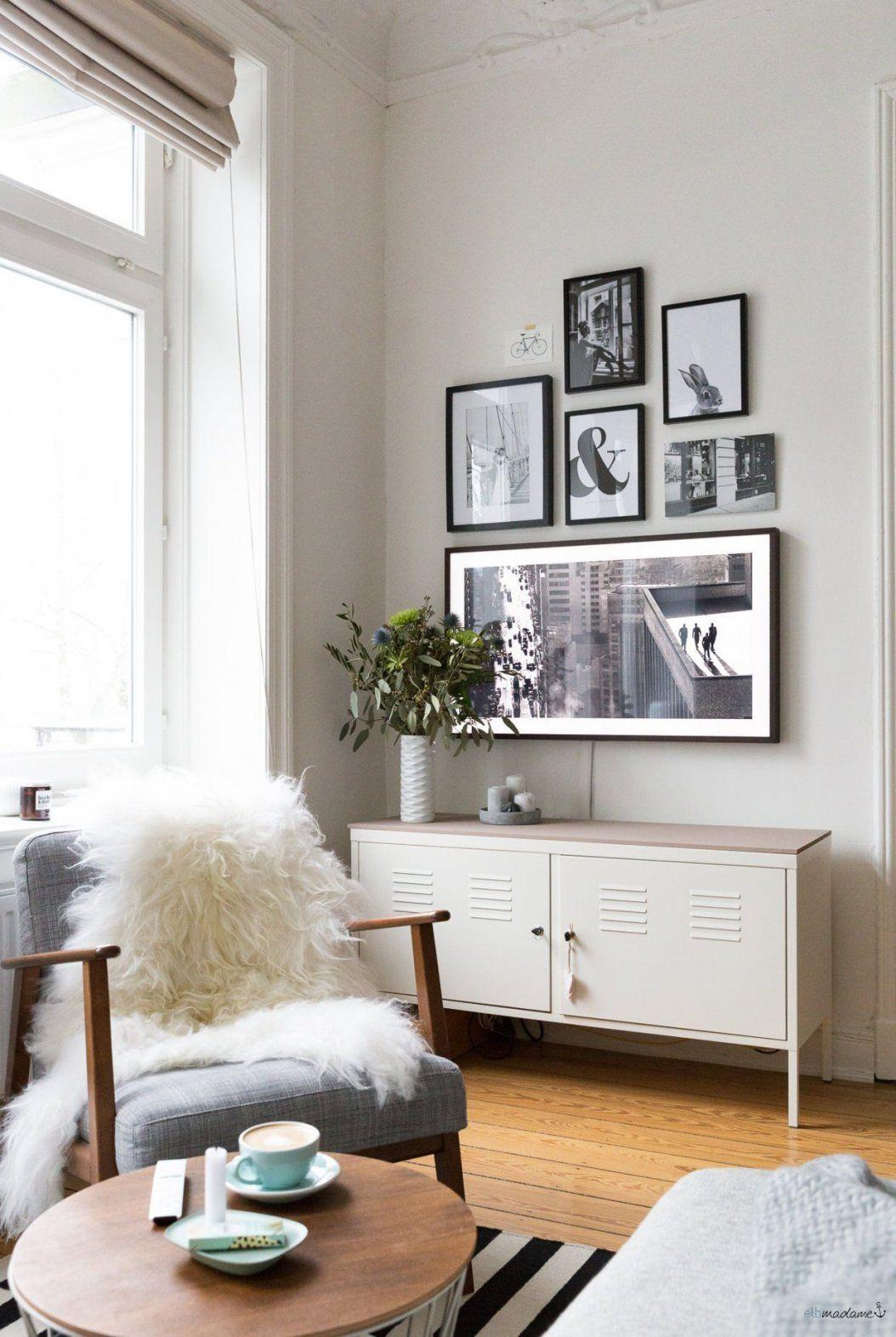So Versteckst Du Deinen Fernseher Im Wohnzimmer  Living Rooms Room von Fernseher Im Wohnzimmer Verstecken Photo