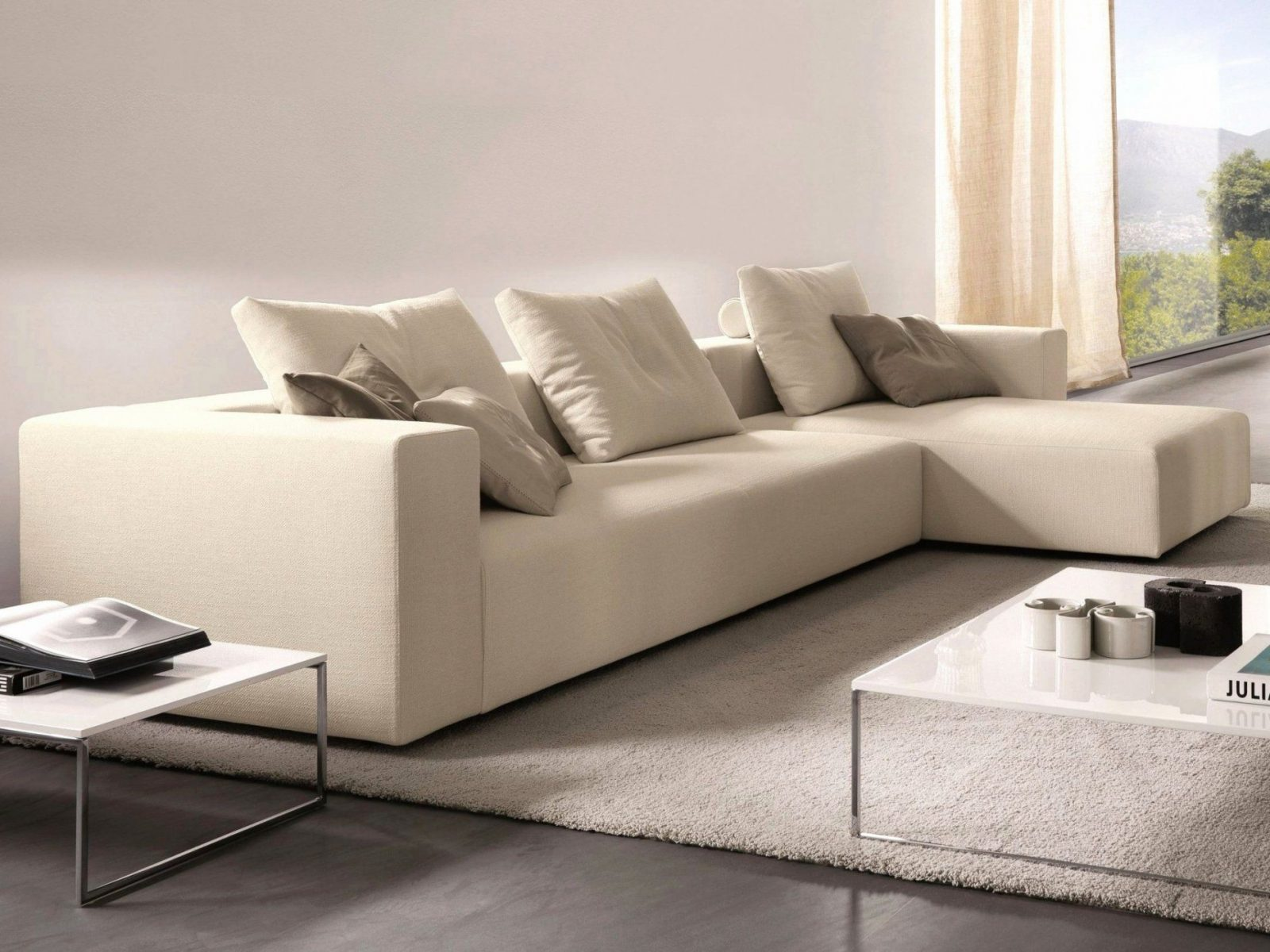 Sofa Design Ideen Und Bilder  Haazendesign von Sofaüberwurf Ecksofa Mit Ottomane Photo