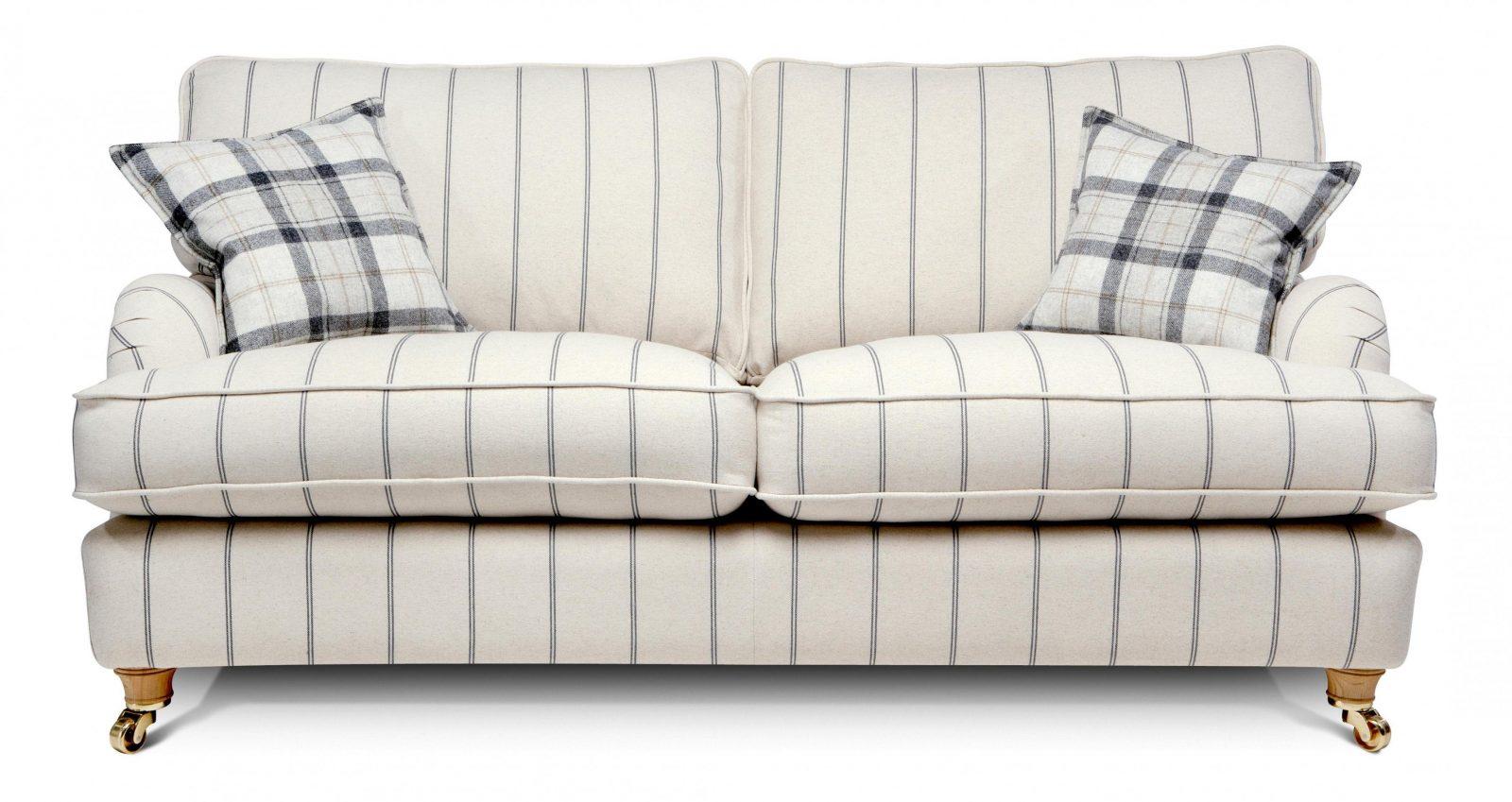 sofa colmar 3sitzer webstoff blau gestreift maison belfort von sofa blau wei gestreift bild. Black Bedroom Furniture Sets. Home Design Ideas