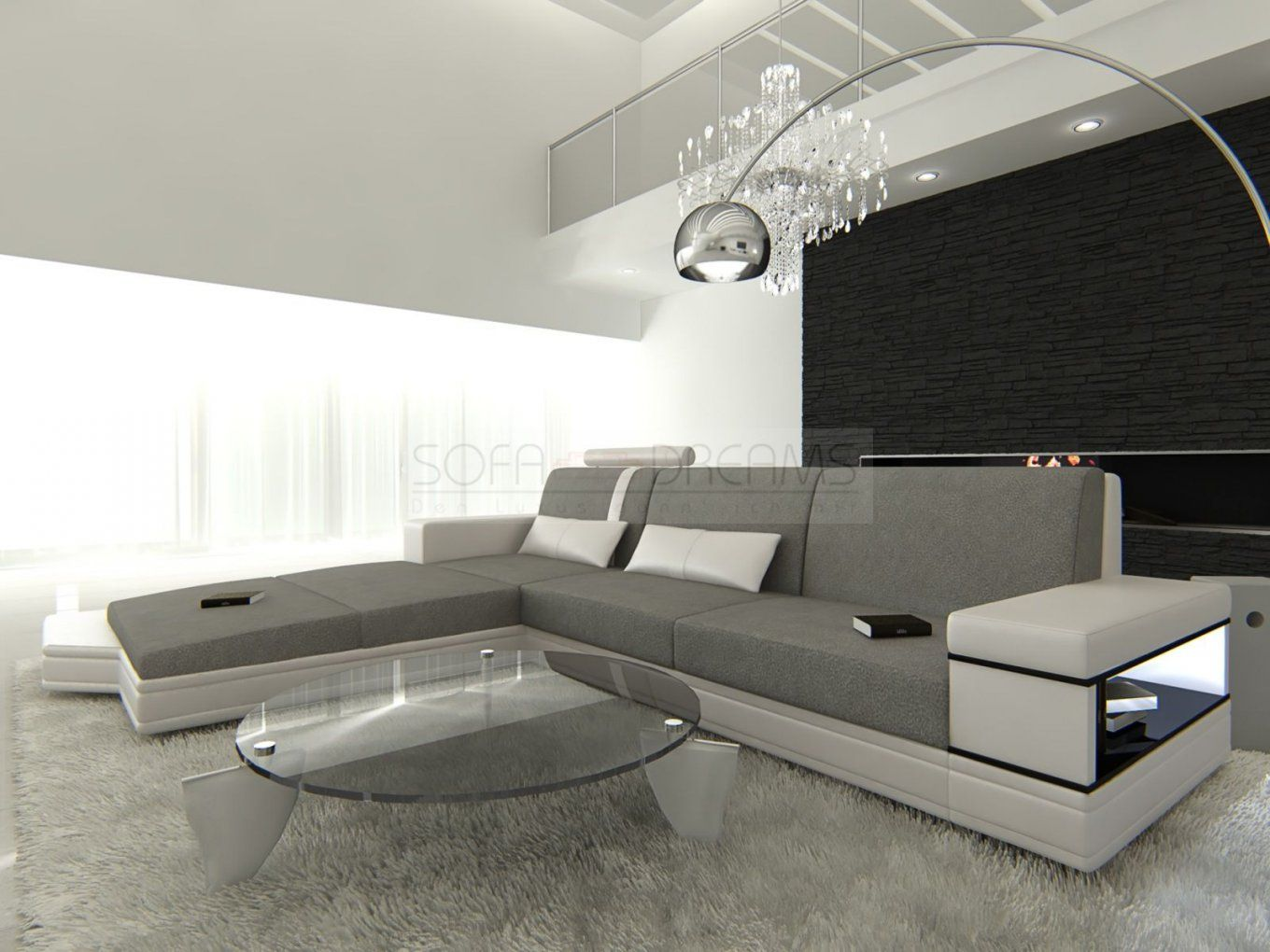 couch l form mit schlaffunktion haus design ideen. Black Bedroom Furniture Sets. Home Design Ideas