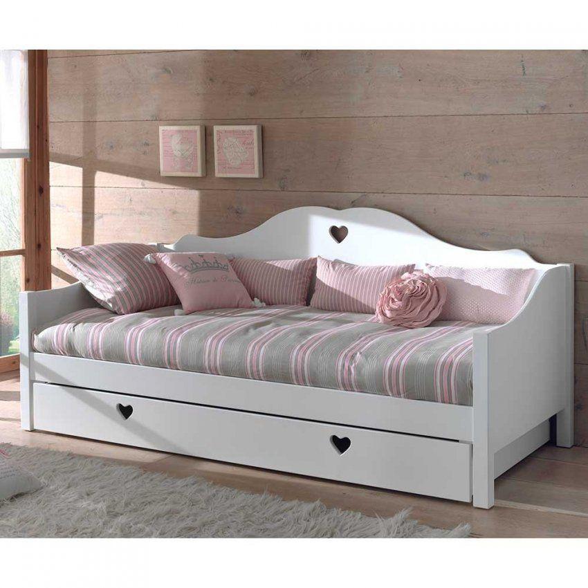 Sofabett Ciomore In Weiß Mit Bettkasten  Pharao24 von Kinderbett Weiss Mit Schublade Photo