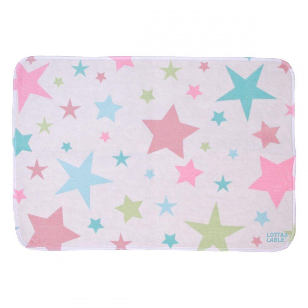 Softie Teppich 'partysterne' Girls 130X190 Cm Von Lottas Lable Kaufen von Lottas Lable Teppich Sterne Bild