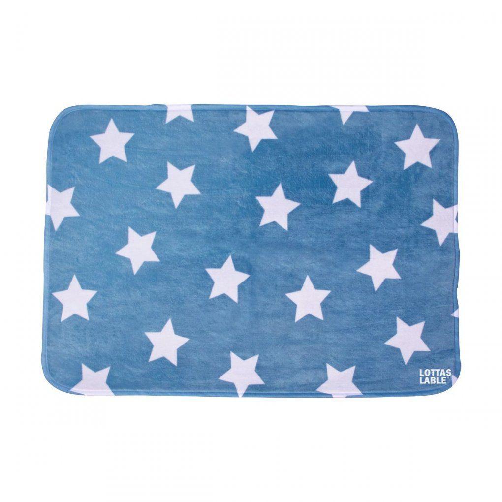 Softie Teppich 'stern' Jeans 70X100 Cm Von Lottas Lable Kaufen von Lottas Lable Teppich Sterne Bild