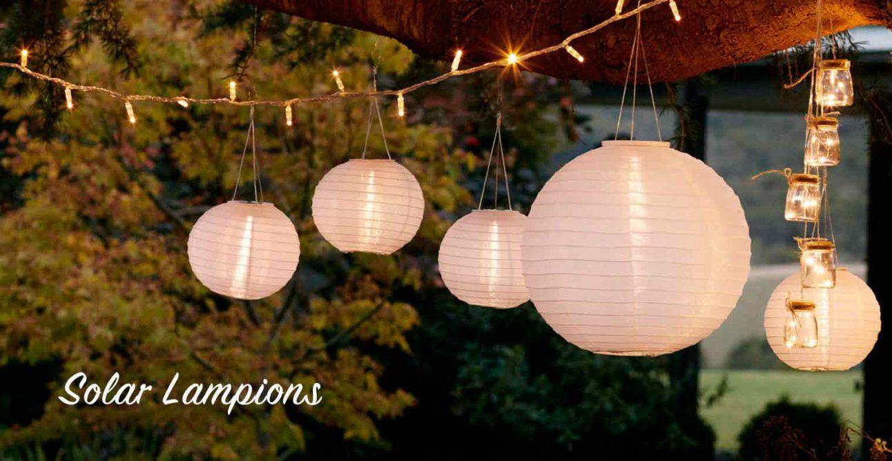 Solarleuchten  Lights4Fun von Solar Lampions Für Den Garten Bild