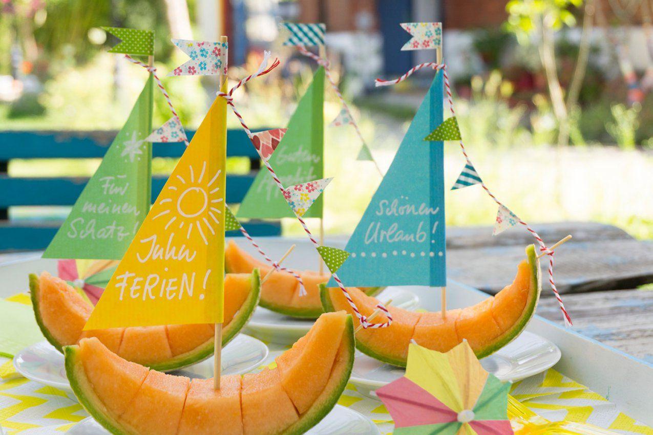 Sommer Deko Selber Machen von Sommer Tischdeko Selber Machen Bild