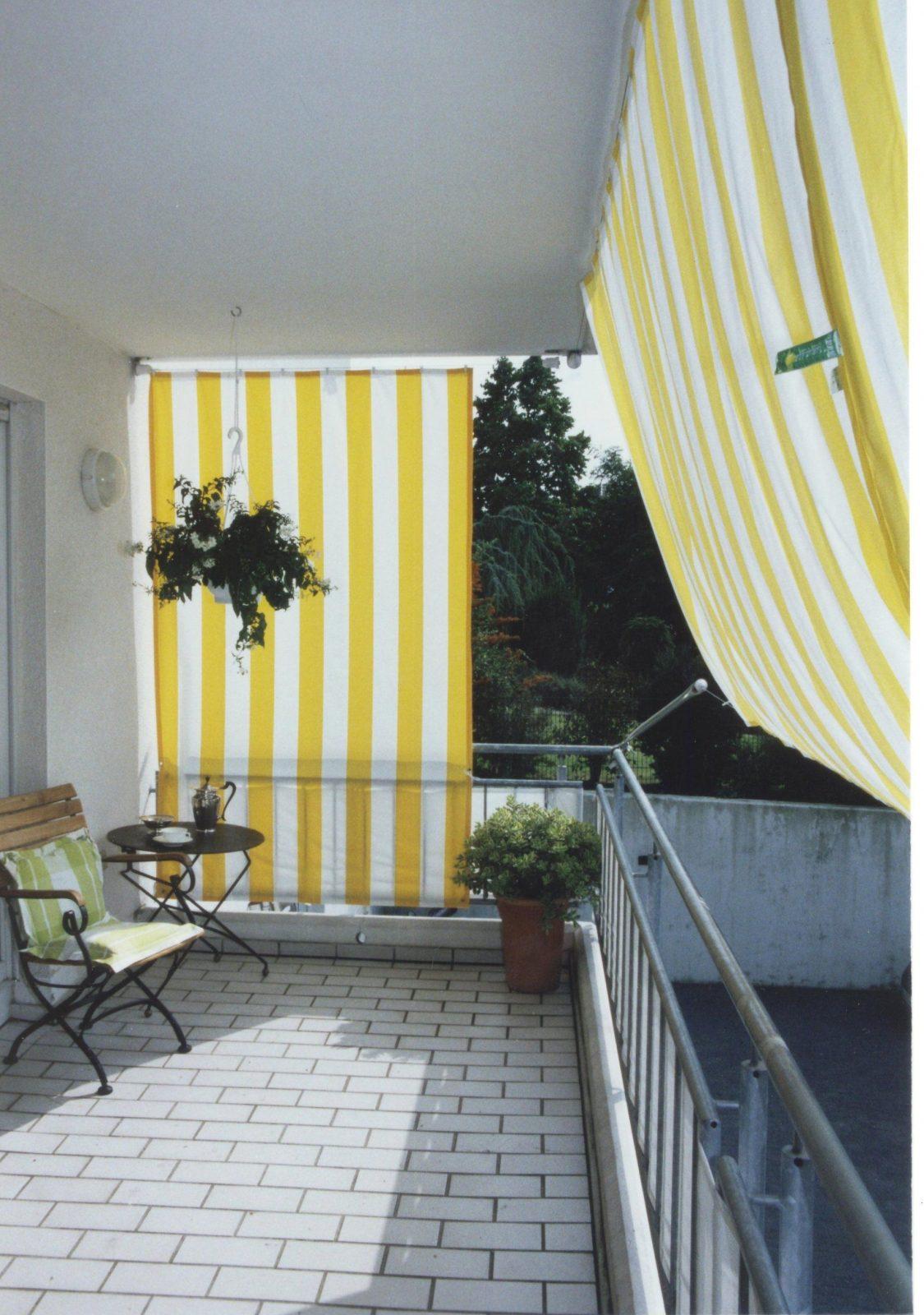 Sonnensegel Für Balkone  Sonnensegel Shop von Balkon Seitensichtschutz Ohne Bohren Photo