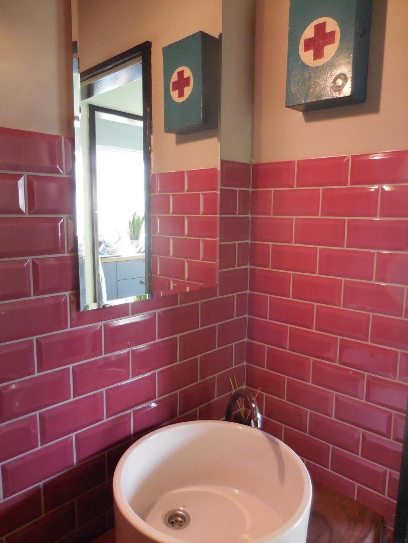 "Southern Tiles Serie ""cv"" Metro Fuxia 75X15 Cm  Privat Object von Metro Fliesen 7 5X15 Photo"