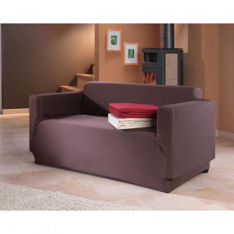 Spannbezug Sofa Mit Armlehnen In Braun 185 X 210 Cm Preiswert Kaufen von Couch Hussen Dänisches Bettenlager Bild