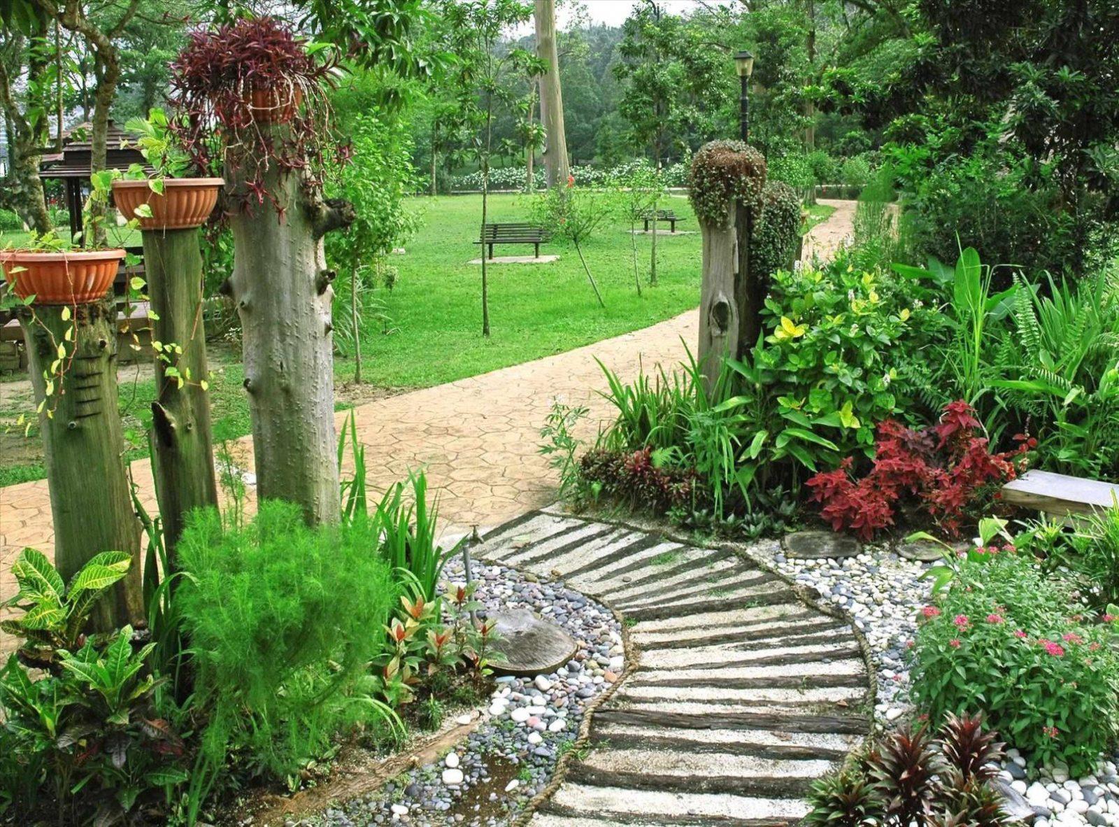 Spannende Garten Gestalten Mit Wenig Geld Garten Mit Steinen von Garten Gestalten Mit Wenig Geld Bild