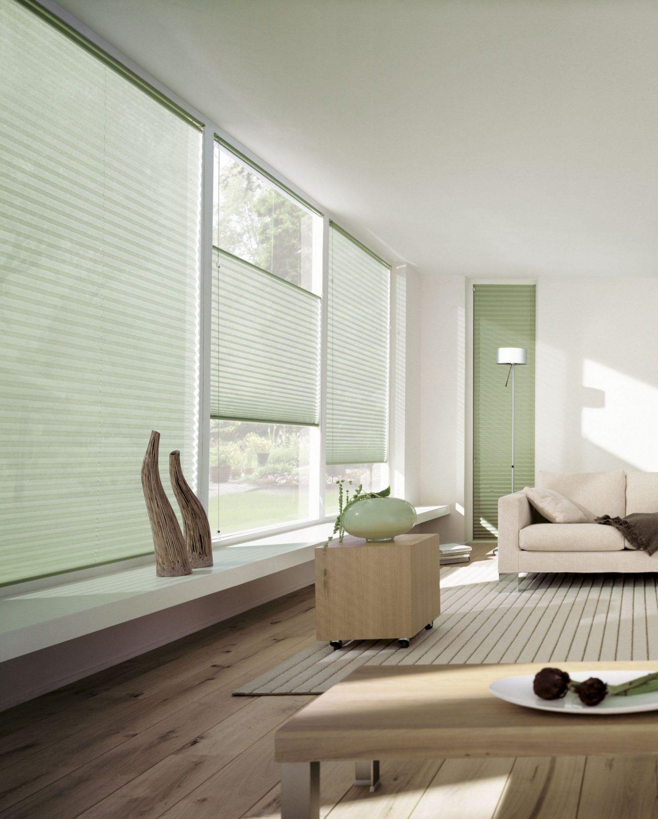 Spannende Plissee Bodentiefe Fenster Dekorativer Sonnenschutz Fã R von Plissee Für Bodentiefe Fenster Photo