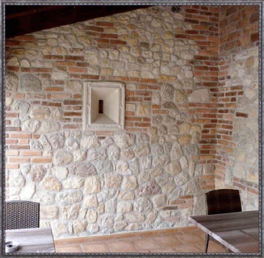 Spannende Wand In Steinoptik Selber Machen Innenarchitektur Kleines von Wandverkleidung Stein Selber Machen Bild