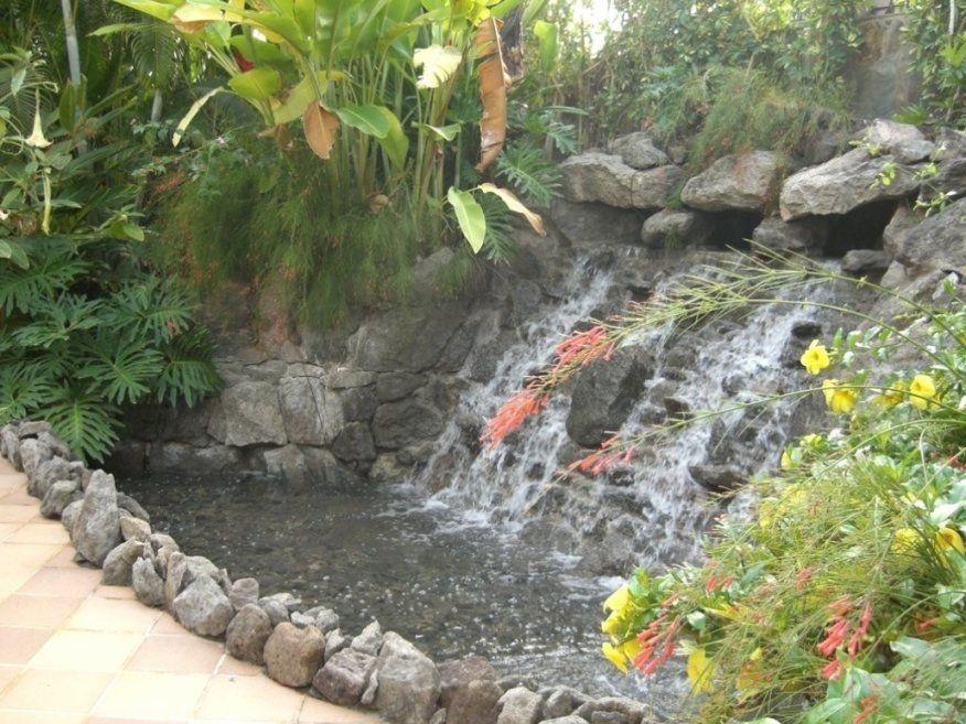 Spannende Wasserfall Selbst Bauen Wasserfall Im Garten Selber Bauen von Wasserfall Garten Bauen Anleitung Bild