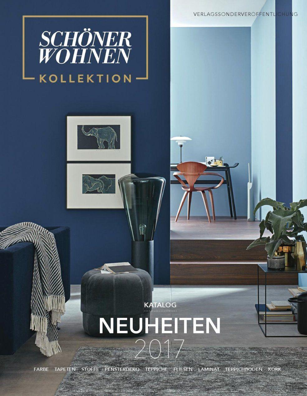 Spektakuläre Ideen Schöner Wohnen Wandfarbe Blau Und Erstaunliche von Tapeten Schöner Wohnen Kollektion Bild