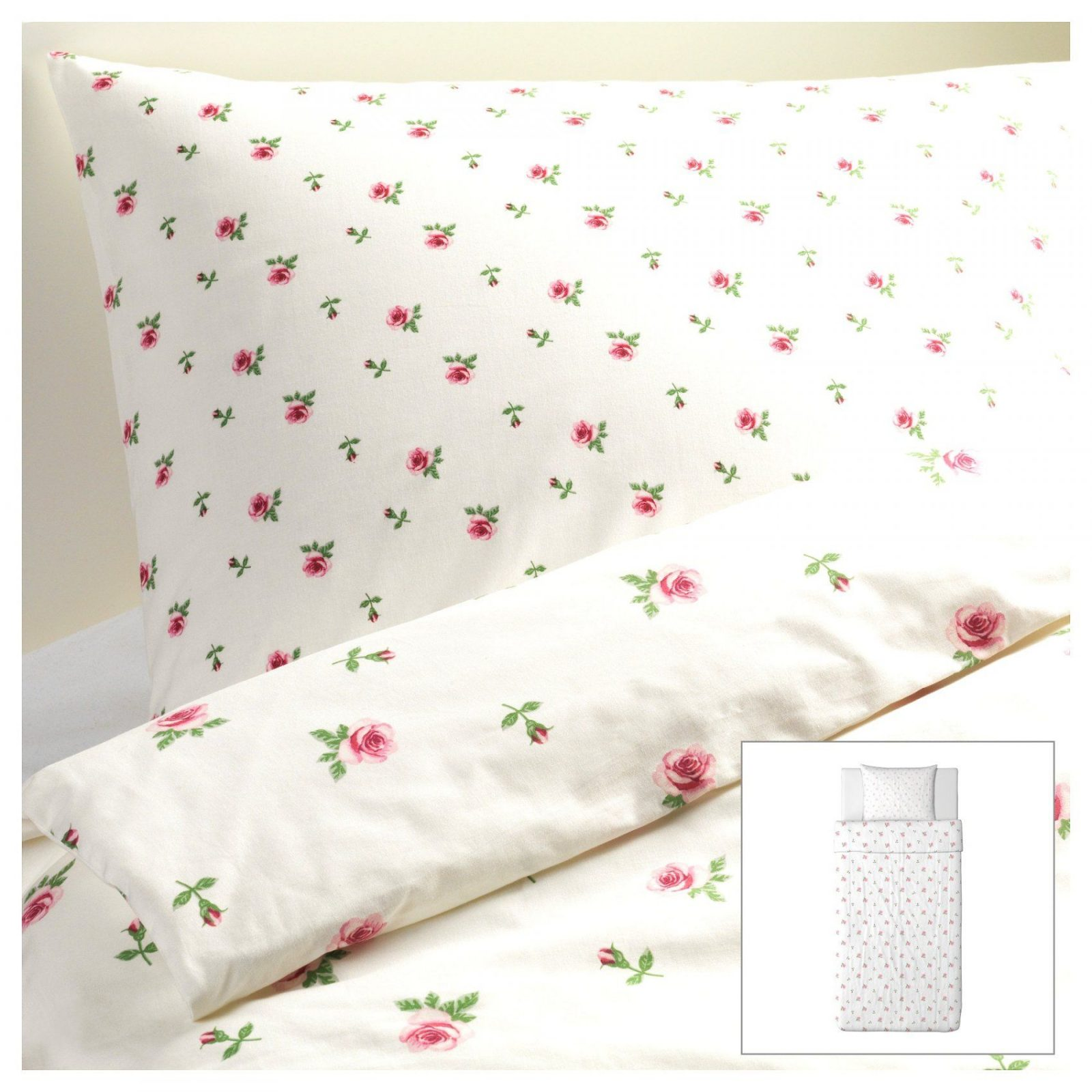 Spektakuläre Inspiration Blümchen Bettwäsche Und Gute Ikea Weiß Mit von Blümchen Bettwäsche Rosa Bild