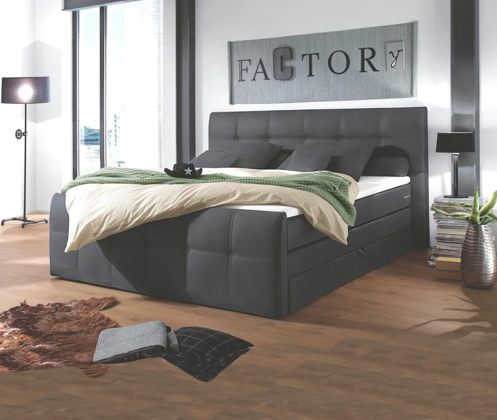 spektakul re inspiration boxspringbett auf rechnung und. Black Bedroom Furniture Sets. Home Design Ideas