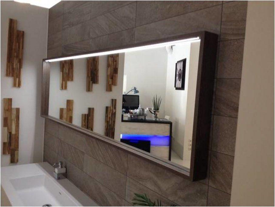 Spiegel Nach Maß Mit Led Holzrahmen In Verschiedenen Farben von Led Badspiegel Nach Maß Bild