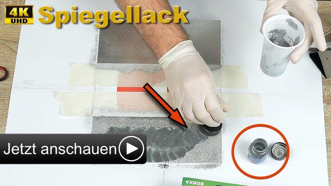 Spiegel Selber Machen I Spiegellack Test [4K]  Youtube von Spiegel Selber Machen Spiegelfolie Photo