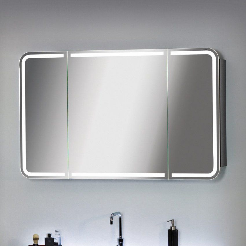 Spiegelschrank Cm Weis Hochglanz Weiss Mit Beleuchtung Hoch Holz Led von Bad Spiegelschrank 100 Cm Breit Bild