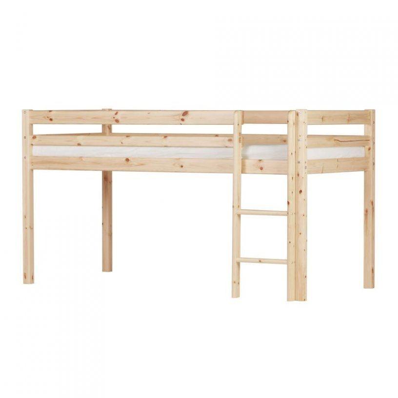 Spielbett Frieda (Natur Lackiert)  Dänisches Bettenlager von Halbhohes Bett Dänisches Bettenlager Bild